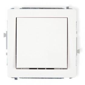 Mechanizm łącznika jednobiegunowego Karlik DECO DWP-1 biały